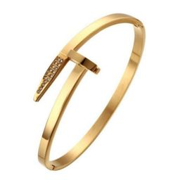Brixton Nail Bangle   The Styled Collection