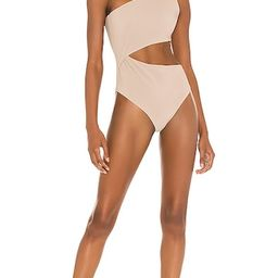 Celine One Piece in Tan | Revolve Clothing (Global)