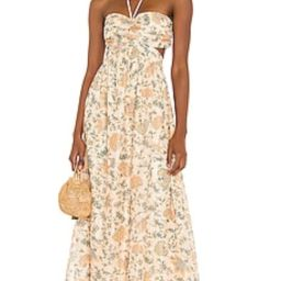 House of Harlow 1960 x Sofia Richie Yasmina Maxi Dress in Paisley Floral Multi from Revolve.com | Revolve Clothing (Global)
