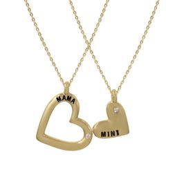 Krista + Kolly Horton: Mama + Mini Sweetheart Pendant | The Styled Collection