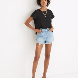 The Perfect Jean Short in Hedrick Wash | Madewell