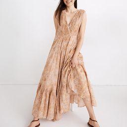 Mes Demoiselles Paris Sunkiss Maxi Dress in Floral Print | Madewell