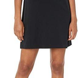 Lark & Ro Women's Florence Short Sleeve Sweater Trim Dress | Amazon (US)