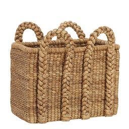 Beachcomber Tall Rectangular Basket | Pottery Barn (US)