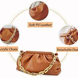 Women's Chain Pouch Bag Shoulder Bag Crossbody Handbag Clutch purse for women | Amazon (US)