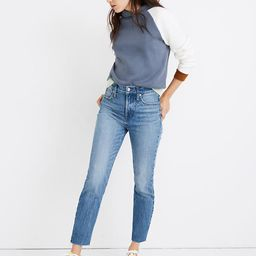 The Perfect Vintage Jean in Enmore Wash: Raw-Hem Edition | Madewell