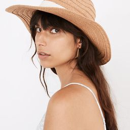 Packable Braided Straw Hat | Madewell