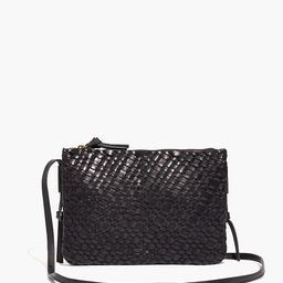 The Knotted Crossbody Bag in Woven Leather | Madewell