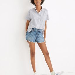 Relaxed Denim Shorts in Berriman Wash | Madewell