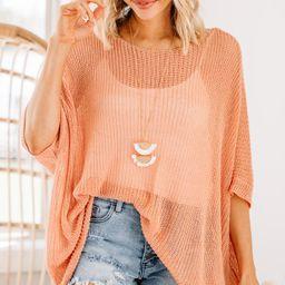 Beautiful Love Blush Pink Sweater | The Mint Julep Boutique