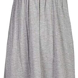 Loxdonz Women's Sun Strapless Tube Short Dress Summer Dresses Casual Mini Beach Cover Up   Amazon (US)