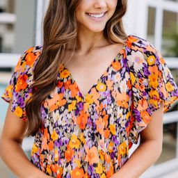 Out For Adventures Pink Floral Bodysuit | The Mint Julep Boutique