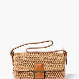 Faux Straw Shoulder Bag                   1 Question, 12 Answers or 12 Buyer Comments or Be the f... | Forever 21 (US)