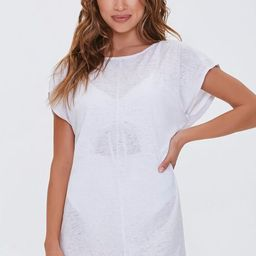 Slub Knit Dolman Swim Cover-Up Dress                   1 Question, 2 Answers or 2 Buyer Comments ... | Forever 21 (US)