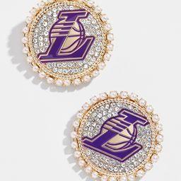 LA Lakers Studs   BaubleBar (US)