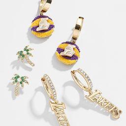 LA Lakers Earring Set   BaubleBar (US)