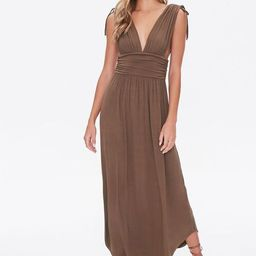 Plunging Maxi Dress                  Be the first to write a review                              ...   Forever 21 (US)