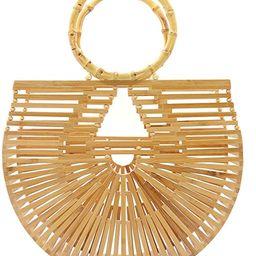 Miuco Womens Bamboo Handbags Handmade Purses Tote Bag   Amazon (US)