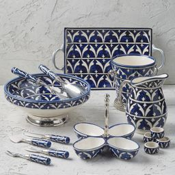 Piazza Ceramic Serving Collection | Frontgate | Frontgate