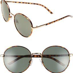 55mm Round Sunglasses   Nordstrom
