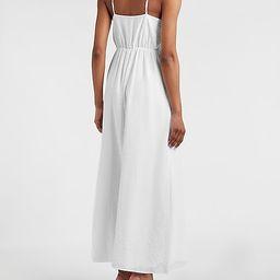 Asymmetrical Ruffle Maxi Dress | Express