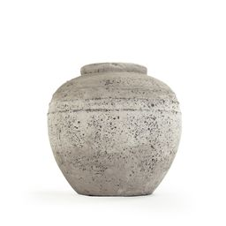 Taupe Stoneware Table Vase | Wayfair North America