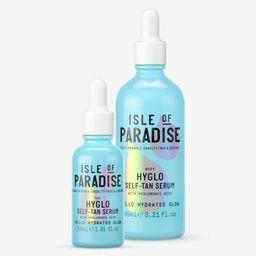 Isle of Paradise HYGLO Self-Tan Face & Body Serum Kit | QVC