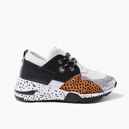 Patternblock Cheetah Print Sneakers   Forever 21 (US)
