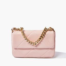 Quilted Faux Leather Crossbody Bag   Forever 21 (US)