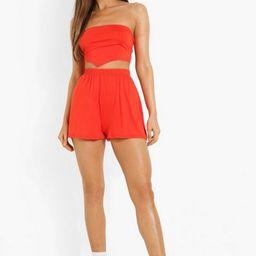 Hankerchief Crop & Flippy Shorts   Boohoo.com (US & CA)