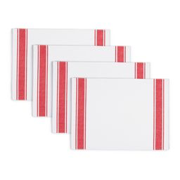 Better Homes & Gardens Farma Bistro Placemat, Red, Set of 4, Available in Multiple Colors | Walmart (US)