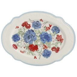 The Pioneer Woman Classic Charm 18-Inch Oval Platter | Walmart (US)