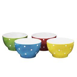 Everyday Ceramic Bowls - Cereal, Soup, Ice Cream, Salad, Pasta, Fruit, 20 oz. Set of 4, By Bruntm...   Walmart (US)