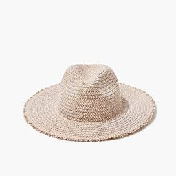 Faux Straw Frayed Fedora | Forever 21 | Forever 21 (US)