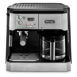 De'Longhi Combination Espresso/Coffee Machine - Stainless Steel BCO430 | Target