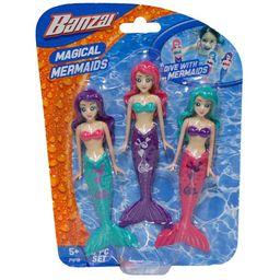 Pool toys - Set of 3 Magical Mermaids Dive Toys | Walmart (US)