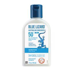 Blue Lizard Mineral Suncare Lotion - Sensitive Skin, SPF 50+, 5 fl oz   Walmart (US)