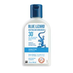 Blue Lizard Australian Sunscreen - Sensitive Skin, SPF 30+, 5 Oz   Walmart (US)