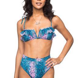 Naomi Wired Top High Waisted Bikini - Clover | BuddyLove