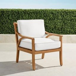 Ambra Lounge Chair with Cushions | Frontgate
