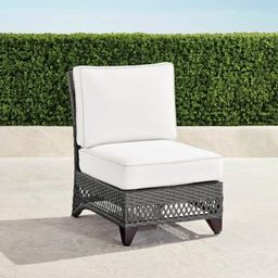 Graham Center Chair with Cushions | Frontgate
