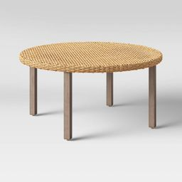Eliot Closed Weave Patio Coffee Table - Threshold™ | Target