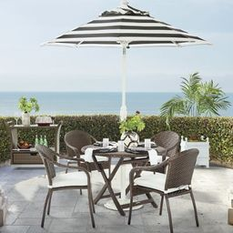Cafe 5-pc. Curved Back Chairs and Table Set   Frontgate