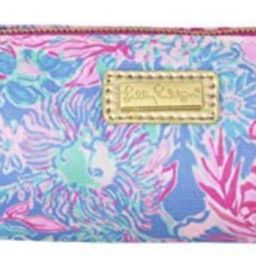 Lilly Pulitzer Pink Pencil Pouch Holder, Cute Travel Bag/Case with Carrying Handle and Zip Close,...   Amazon (US)