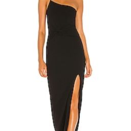Nookie Lust One Shoulder Gown in Black from Revolve.com   Revolve Clothing (Global)
