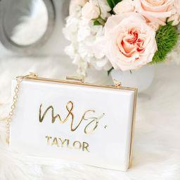 Bride Purse Bride Bag for Wedding Bachelorette Personalized Bride Gift Wedding Gift Bridal Shower... | Etsy (US)