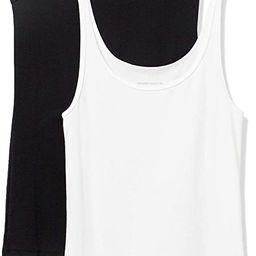 Amazon Essentials Women's 2-Pack Slim-fit Thin Strap Tank | Amazon (US)