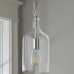 Glass Jug Pendant - Small   Shades of Light
