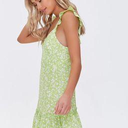 Floral Print Flounce Mini Dress   Forever 21 (US)