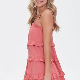 Tiered Ruffle Mini Dress | Forever 21 (US)